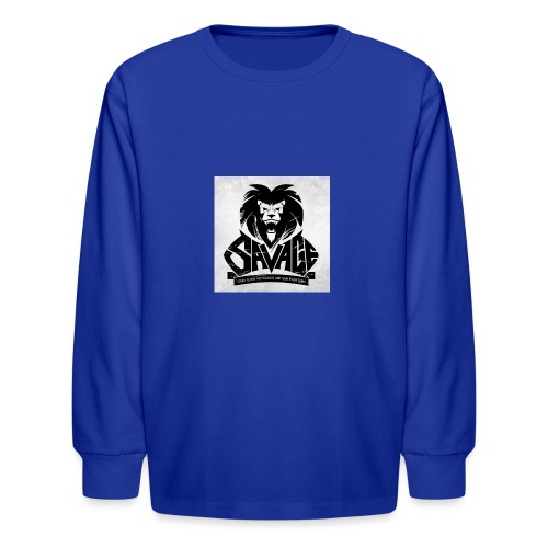 king savage - Kids' Long Sleeve T-Shirt