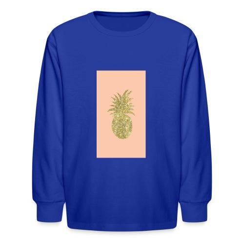 pinaple - Kids' Long Sleeve T-Shirt