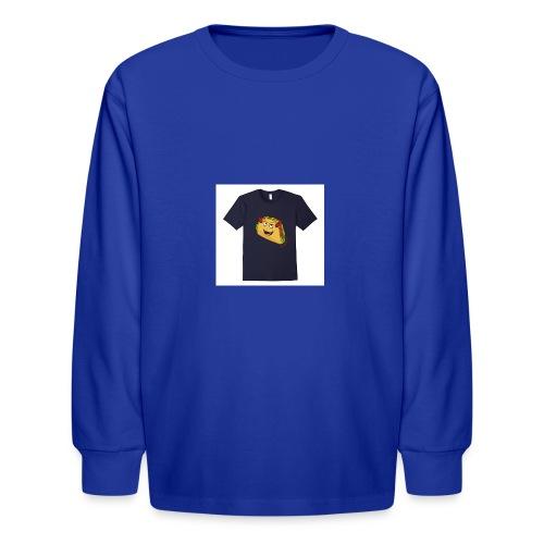 evil taco merch - Kids' Long Sleeve T-Shirt