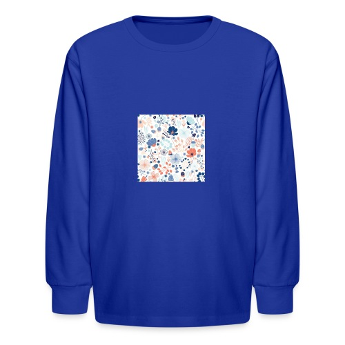 flowers - Kids' Long Sleeve T-Shirt