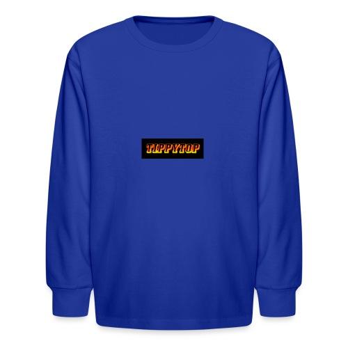 clothing brand logo - Kids' Long Sleeve T-Shirt