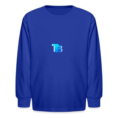 Trublu Overlapping letter Design - Kids' Long Sleeve T-Shirt
