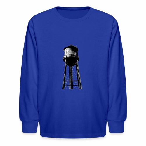 Water Tower - Kids' Long Sleeve T-Shirt