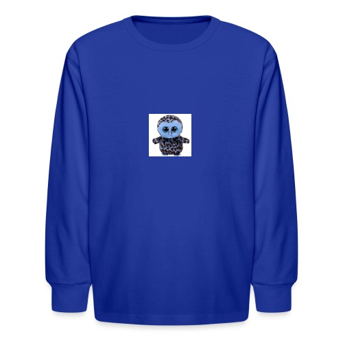 blue_hootie - Kids' Long Sleeve T-Shirt