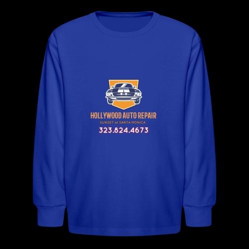 CLASSIC CARS! CLASSIC HOLLYWOOD! - Kids' Long Sleeve T-Shirt
