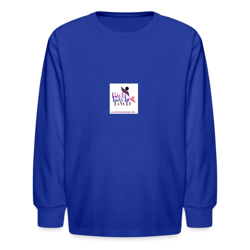 Black Women in Business - Kids' Long Sleeve T-Shirt