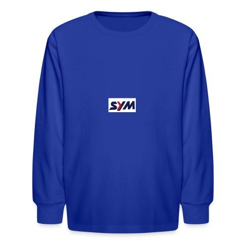 download_-7- - Kids' Long Sleeve T-Shirt