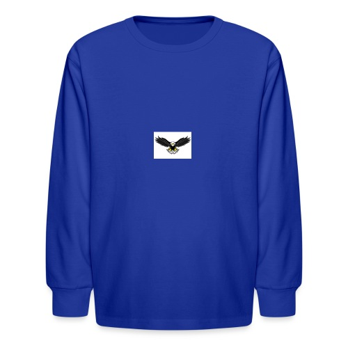 Eagle by monster-gaming - Kids' Long Sleeve T-Shirt
