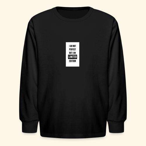 One of a kind - Kids' Long Sleeve T-Shirt