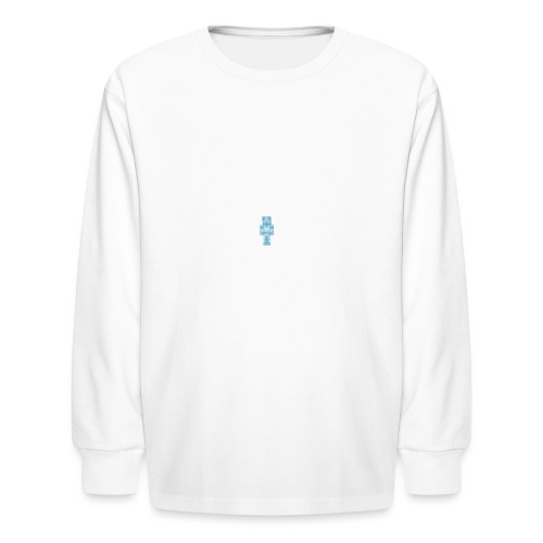 Diamond Steve - Kids' Long Sleeve T-Shirt
