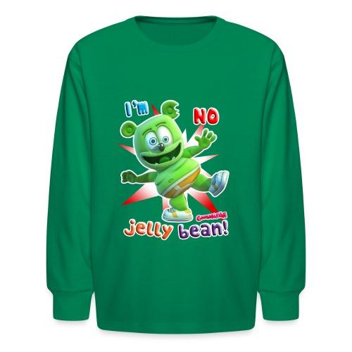 I'm No Jelly Bean - Kids' Long Sleeve T-Shirt