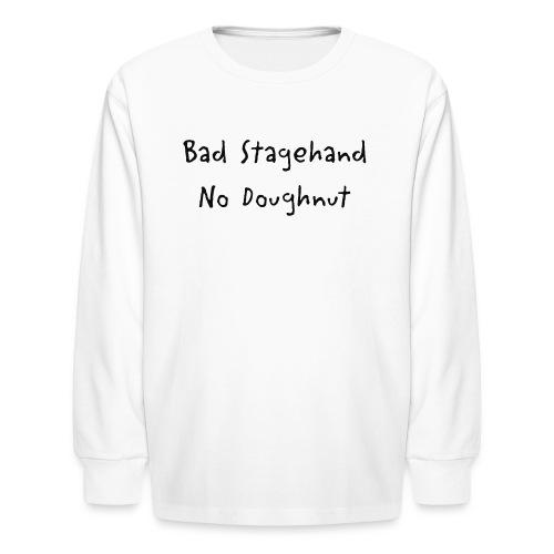 baddoughnut - Kids' Long Sleeve T-Shirt