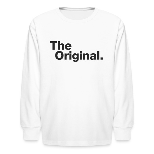 original - Kids' Long Sleeve T-Shirt