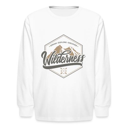 wild - Kids' Long Sleeve T-Shirt