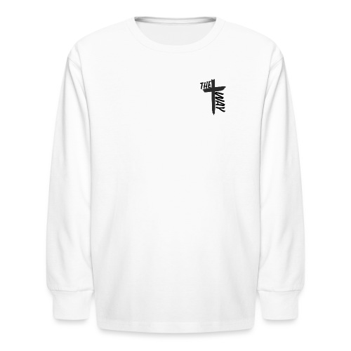 The way logo - Kids' Long Sleeve T-Shirt