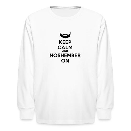 Noshember.com iPhone Case - Kids' Long Sleeve T-Shirt