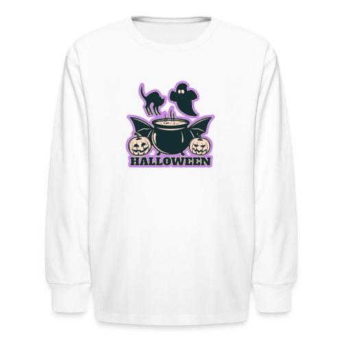 Happy Halloween - Kids' Long Sleeve T-Shirt