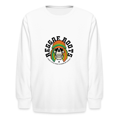 reggae music roots jamaica - Kids' Long Sleeve T-Shirt