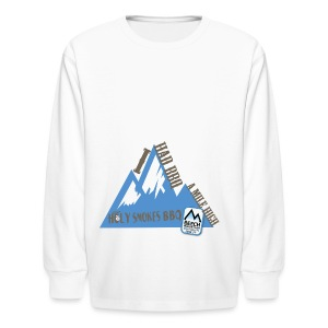 BBQ A Mile High - Kids' Long Sleeve T-Shirt