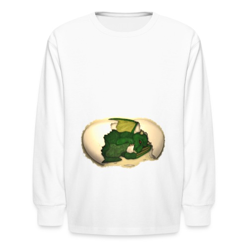 The Emerald Dragon of Nital - Kids' Long Sleeve T-Shirt