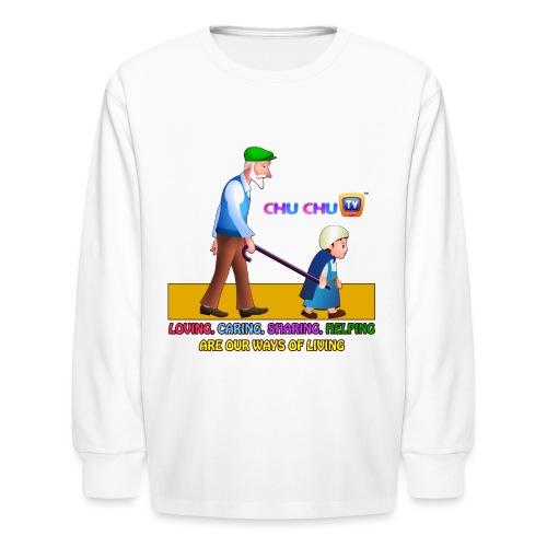 Motivational Slogan 2 - Kids' Long Sleeve T-Shirt
