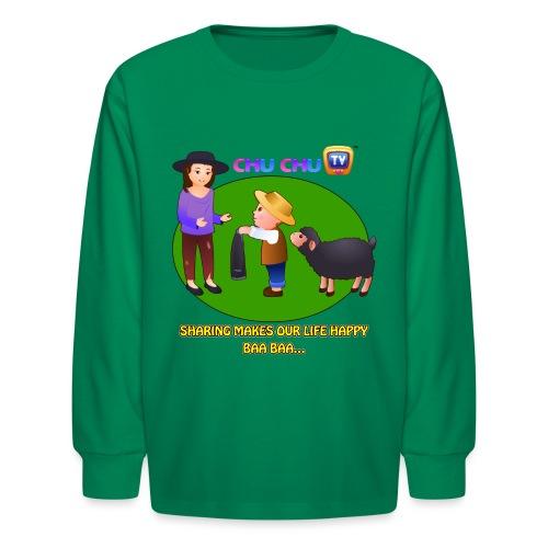 Motivational Slogan 1 - Kids' Long Sleeve T-Shirt