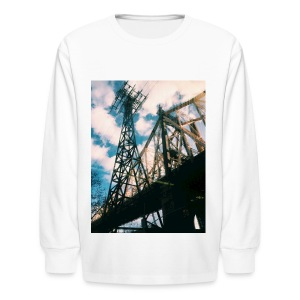 Ed Koch bridge - Kids' Long Sleeve T-Shirt