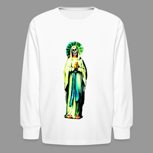 Cult Of Santa Muerte - Kids' Long Sleeve T-Shirt