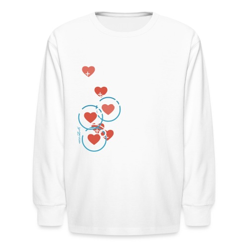 SuperHearts - Kids' Long Sleeve T-Shirt