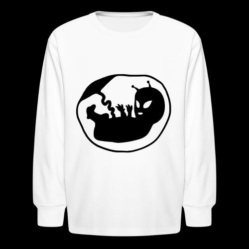 Alien Fetus by bmx3r - Kids' Long Sleeve T-Shirt