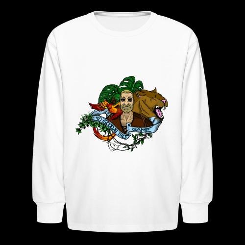 xB ARK (Tattoo Style) - Kids' Long Sleeve T-Shirt