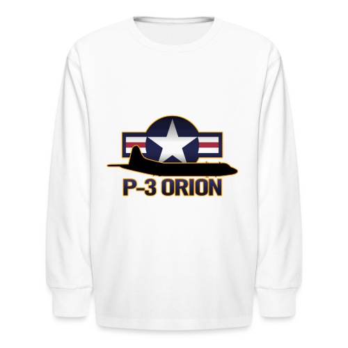 P-3 Orion - Kids' Long Sleeve T-Shirt