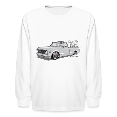 Long & Low C10 - Kids' Long Sleeve T-Shirt