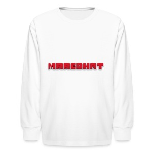 MrRedHat Plain Logo - Kids' Long Sleeve T-Shirt