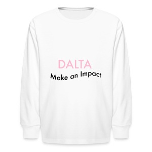 Make an Impact - Kids' Long Sleeve T-Shirt