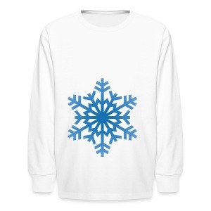 http-images-clipartpanda-com-snowflake-clipart-tra - Kids' Long Sleeve T-Shirt