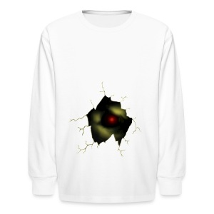 Broken Egg Dragon Eye - Kids' Long Sleeve T-Shirt