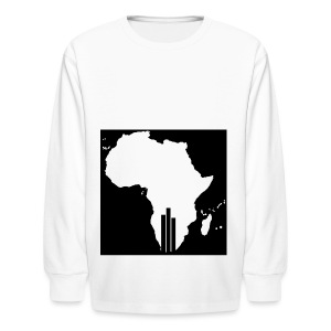 Tswa_Daar_Logo_Design - Kids' Long Sleeve T-Shirt