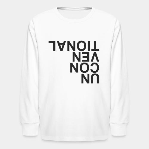 unconventional - Kids' Long Sleeve T-Shirt