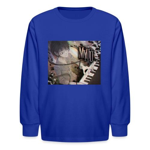 Dark Piano 1 - Kids' Long Sleeve T-Shirt