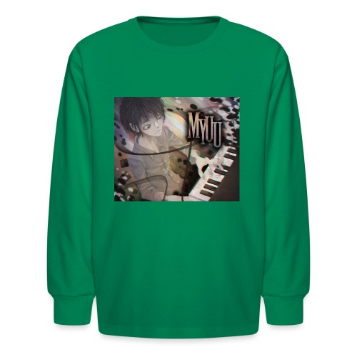 Dark Piano 1 - Kids' Long Sleeve T-Shirt