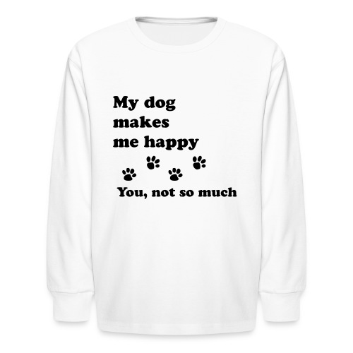 love dog 2 - Kids' Long Sleeve T-Shirt