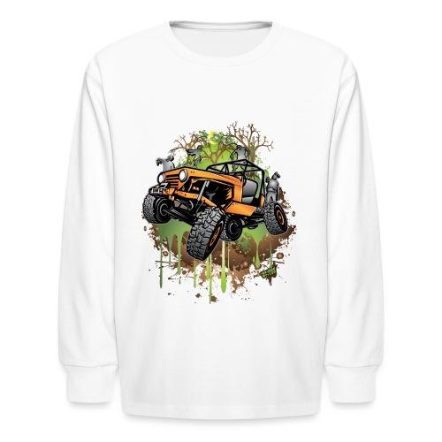 Jeep Halloween Zombie - Kids' Long Sleeve T-Shirt
