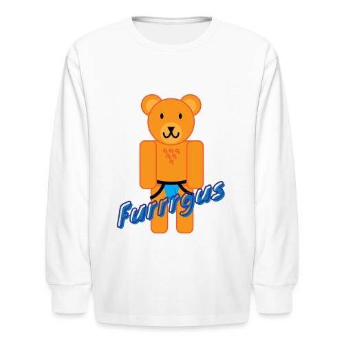 Furrrgus @ Underbear - Kids' Long Sleeve T-Shirt