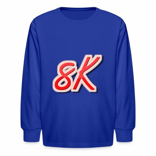 8K - Kids' Long Sleeve T-Shirt