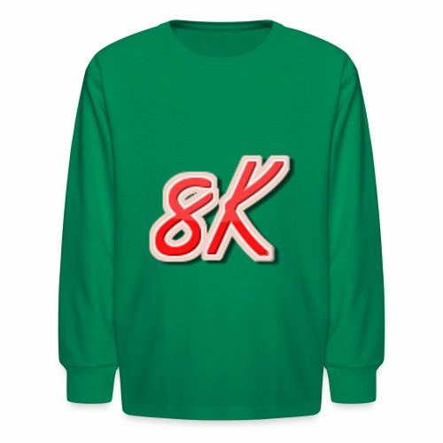 8K - Kids' Long Sleeve T-Shirt