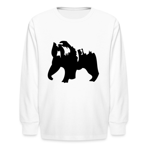 Grizzly bear - Kids' Long Sleeve T-Shirt