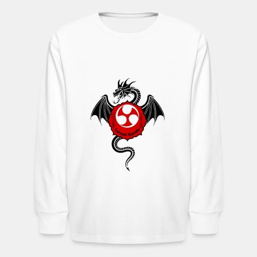 Dragon (B) - Larose Karate - Design Contest 2017 - Kids' Long Sleeve T-Shirt