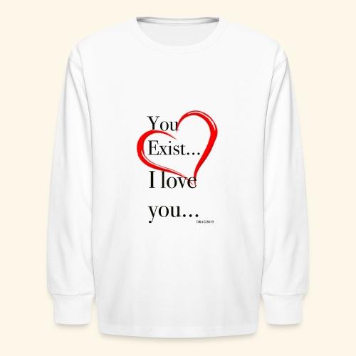 Exist - Kids' Long Sleeve T-Shirt