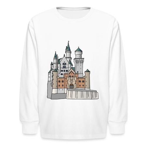 Neuschwanstein Castle, Bavaria - Kids' Long Sleeve T-Shirt